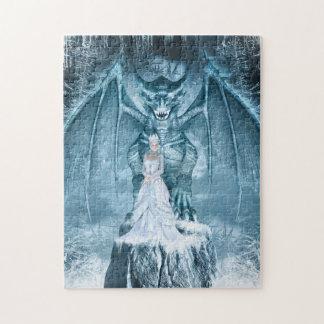 氷の女王およびドラゴンのパズル ジグソーパズル