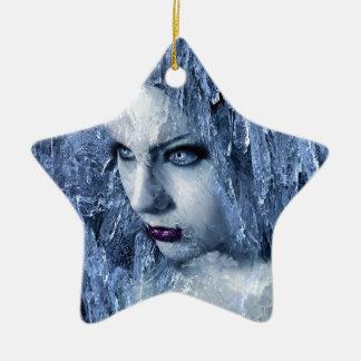 氷の女王 セラミックオーナメント