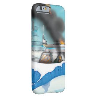氷の惑星のサイファイの戦い! BARELY THERE iPhone 6 ケース
