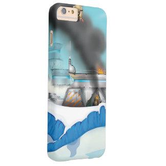 氷の惑星のサイファイの戦い! BARELY THERE iPhone 6 PLUS ケース