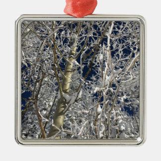 氷の木 メタルオーナメント