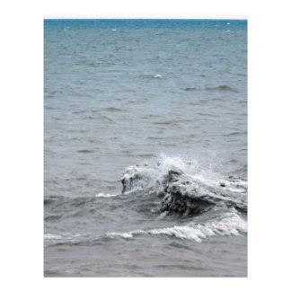 氷の波 レターヘッド