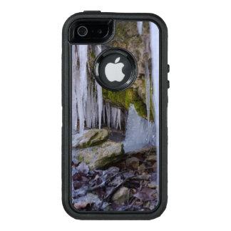 氷の洞窟 オッターボックスディフェンダーiPhoneケース