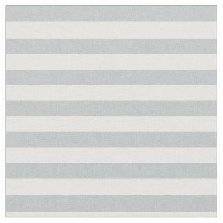 氷の灰色及び白いストライプの ファブリック