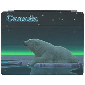 氷の端の白くま iPadスマートカバー