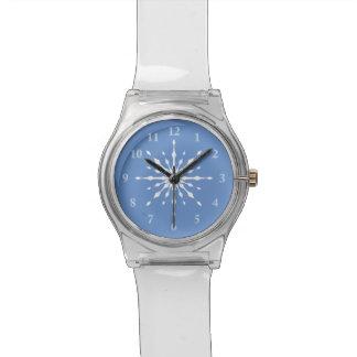 氷の腕時計として雪片のゆとり 腕時計