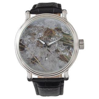 氷の腕時計のデザイン 腕時計