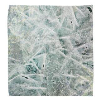 氷の質 バンダナ
