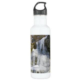 氷の鎌のヴァーモントの冬 ウォーターボトル