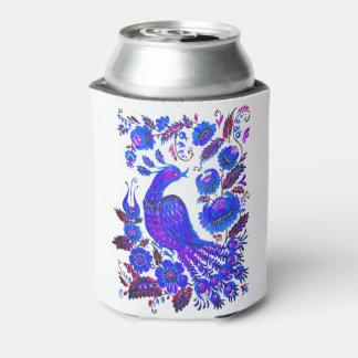 氷の鳥のpetrykivkaのウクライナ人の芸術 缶クーラー