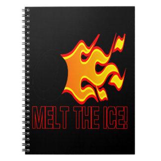 氷を溶かして下さい ノートブック