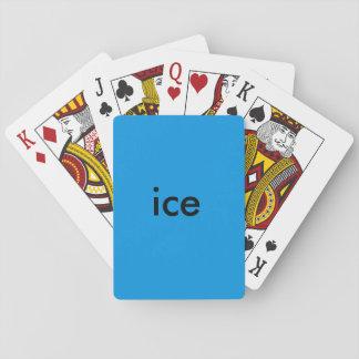 氷カード トランプ