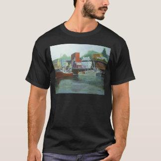 氷及び燃料のポーツマス港 Tシャツ