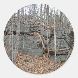 氷大きい石モンゴメリー郡Pennsylania ラウンドシール