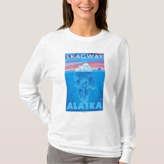 氷山の横断面- Skagway、アラスカ Tシャツ