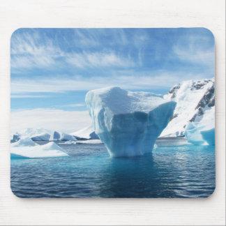 氷山404966の氷山の南極大陸の北極の青い氷s マウスパッド