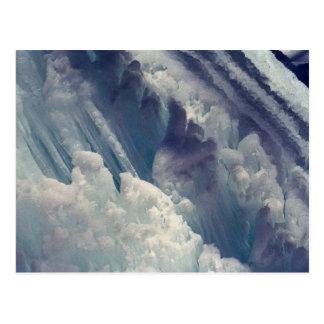氷形成 ポストカード