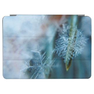 氷晶、冬季、雪、自然 iPad AIR カバー