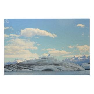 氷河パタゴニア ウッドウォールアート