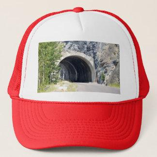 氷河公園のトンネル キャップ