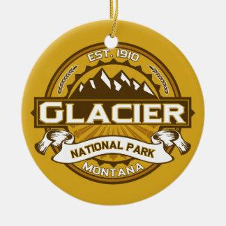 氷河Goldenrod セラミックオーナメント