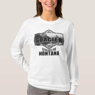 氷河Pano Tシャツ