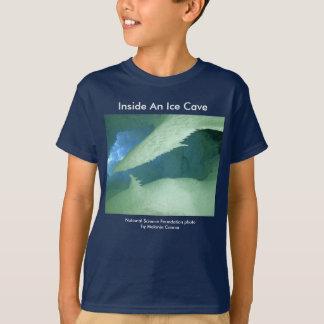 氷洞の中の青年T/ Tシャツ