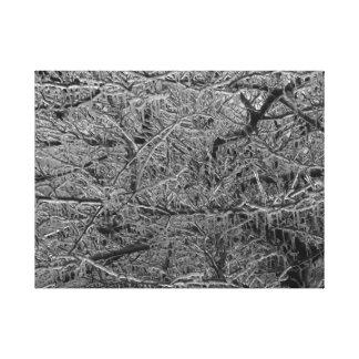 氷雨 キャンバスプリント
