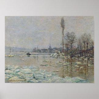 氷1880年の破壊 ポスター