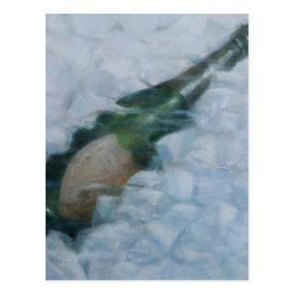 氷2012年のシャンペン ポストカード
