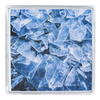 氷 銀色 ラペルピン