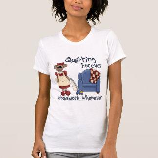 永久にキルトにすること Tシャツ