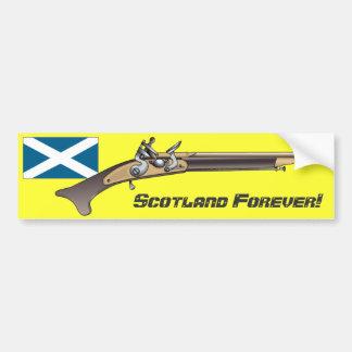 永久にスコットランド! バンパーステッカー