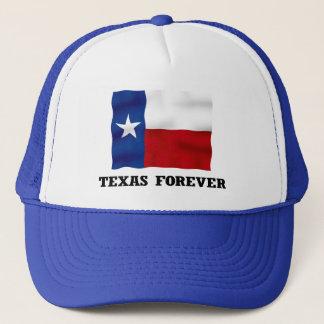 永久にテキサス州の-青いトラック運転手の帽子 キャップ