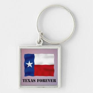 永久にテキサス州-旗の文字- Multi_Products キーホルダー