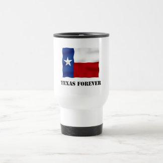 永久にテキサス州-旗の文字- Multi_Products トラベルマグ