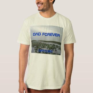 永久にパパの永久にオーガニックなTシャツのパパ Tシャツ