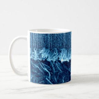 永久にブルー・ジーンズのマグで コーヒーマグカップ