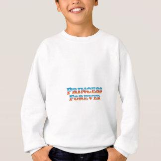 永久にプリンセスの-衣服だけ スウェットシャツ