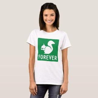 永久にリス Tシャツ
