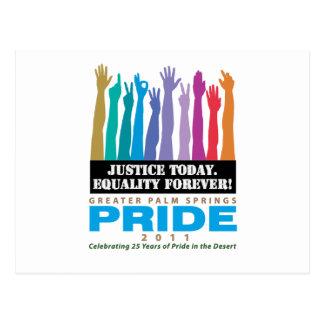 永久に今日正義の平等 ポストカード