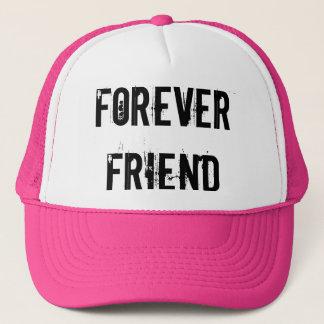 永久に友人のトラック運転手の帽子のピンク キャップ
