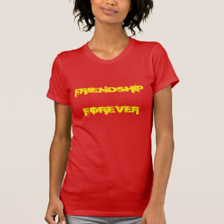永久に友情 Tシャツ