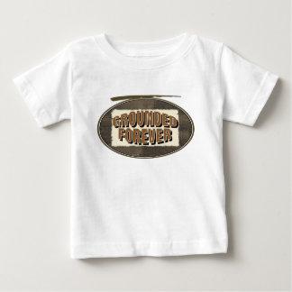 永久に基づかせている ベビーTシャツ