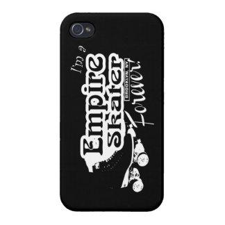 永久に帝国スケート選手! [黒いiphone] iPhone 4/4Sケース