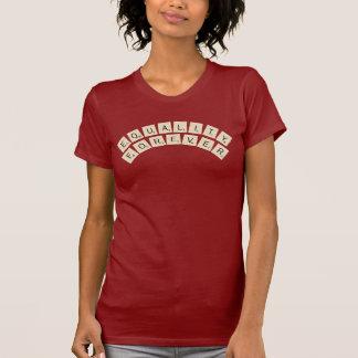 永久に平等 Tシャツ