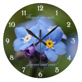 永久に忘れ私ない柱時計 ラージ壁時計