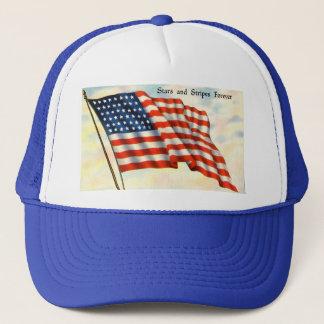 永久に星条旗の米国旗 キャップ