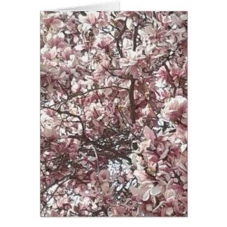 永久に春の挨拶状 カード