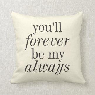 永久に私の常に枕 クッション